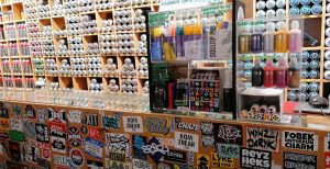 Graffiti shop paris
