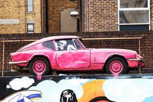 Triumph GT6 MkIII de Banksy