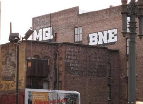 Graffiti block letter MQ BNE