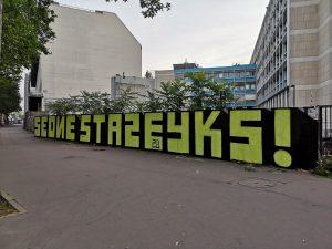 Graffiti blockletter Seone Staze YKS
